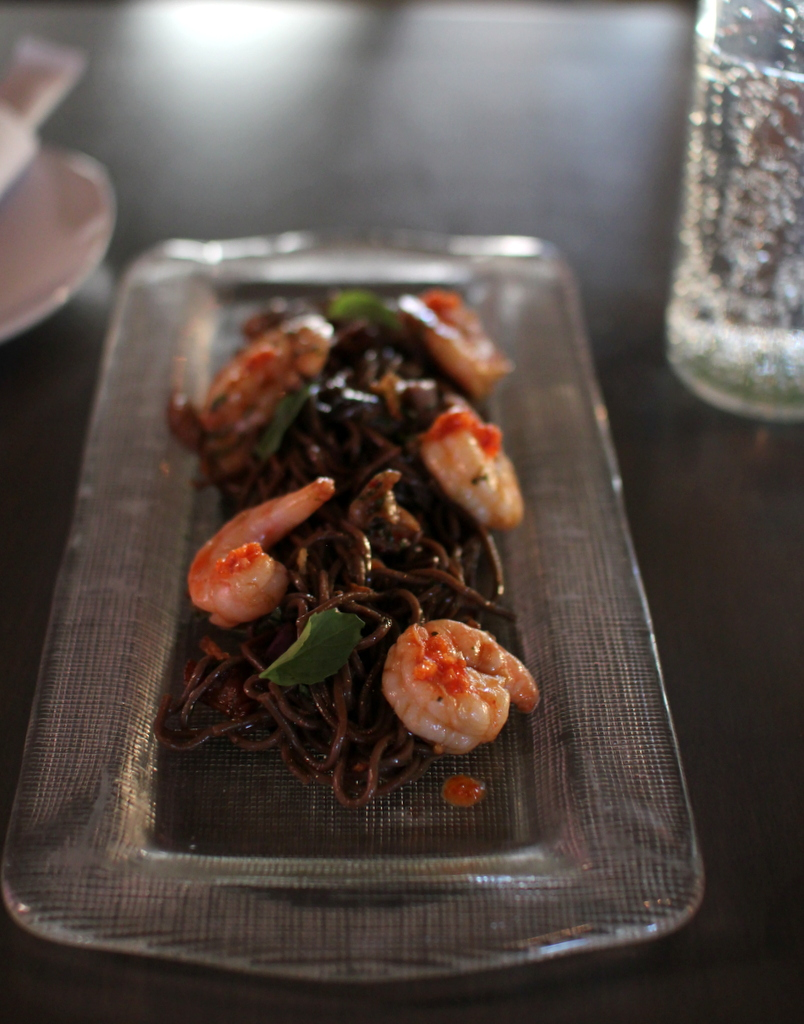 Review of BellyQ: soba noodles, tea smoked lamb rib ...