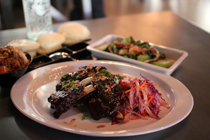 Review of BellyQ: soba noodles, tea smoked lamb rib ...